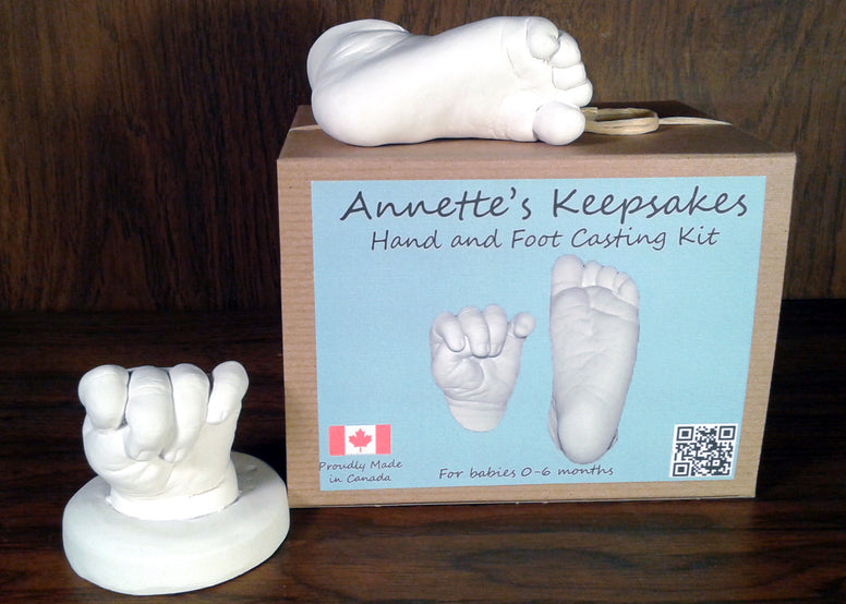 Annette's Keepsakes - Baby Hand and Foot Casting Kit