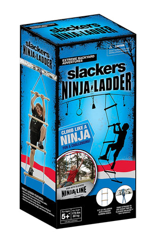 Slackers - NinjaLine 8-Ft Rope Ladder, Blue