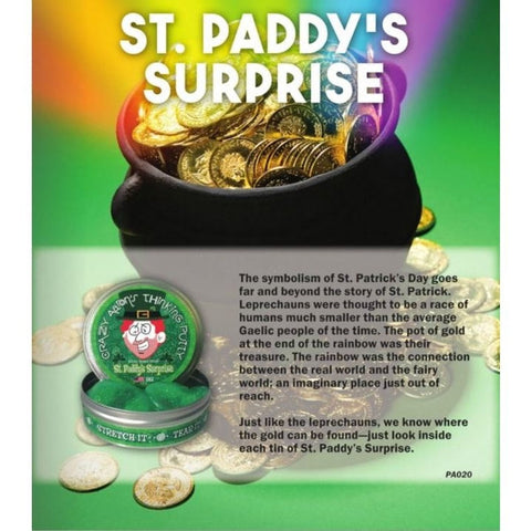 Crazy Aaron's Thinking Putty - St Paddy's Surprise