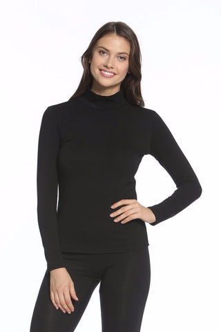Beyond the Basics Mock Neck Top