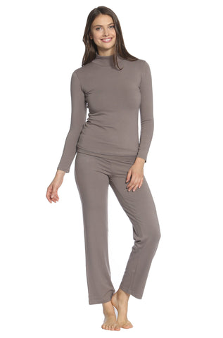 Beyond the Basics Yoga Lounge Pants - Earth Tones