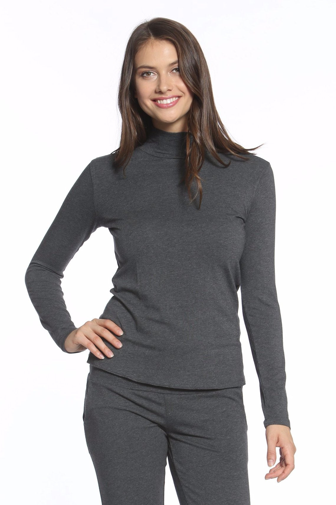 Beyond the Basics Mock Neck Top - Basic Colors
