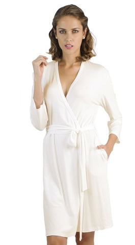 Beyond the Basics 3/4 Sleeve Robe - Sales Rack