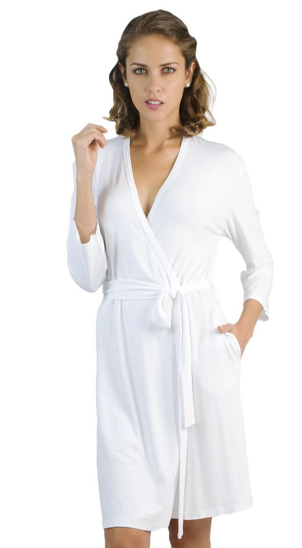 Beyond the 3/4 Sleeve Length Robe Basics Robe