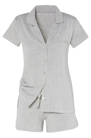 Brenda Long Sleeve Men's Styled Sleepshirt - Sales Rack