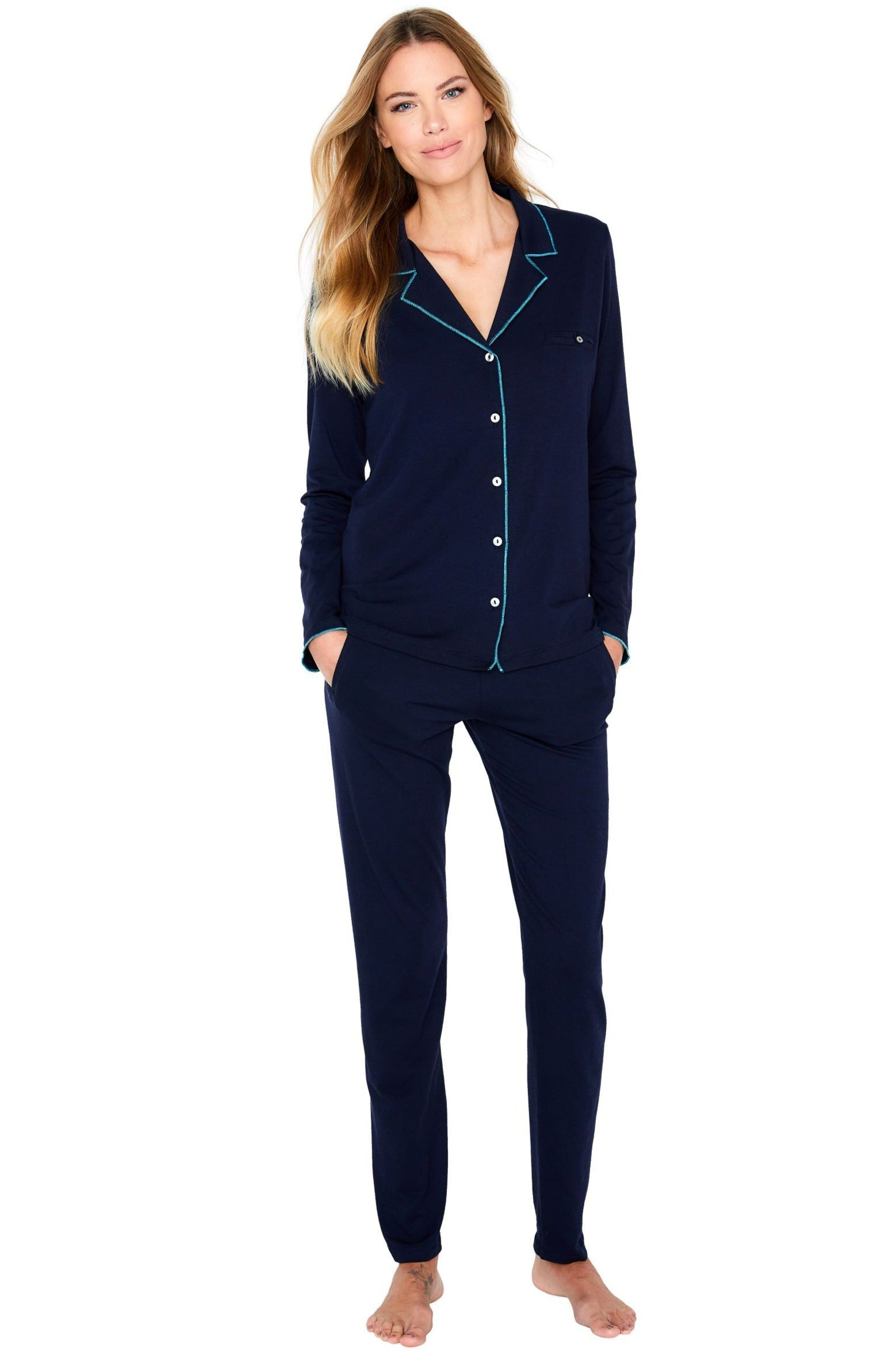 Brenda Long Sleeve PJ Set