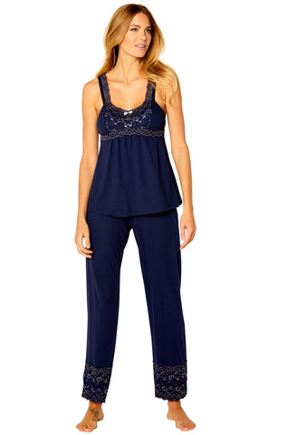 Coco Tank Camisole Full Length Pant PJ Set