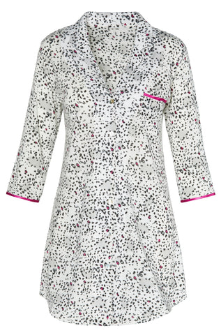 Donatella 3/4 Sleeve Sleepshirt - Sales Rack