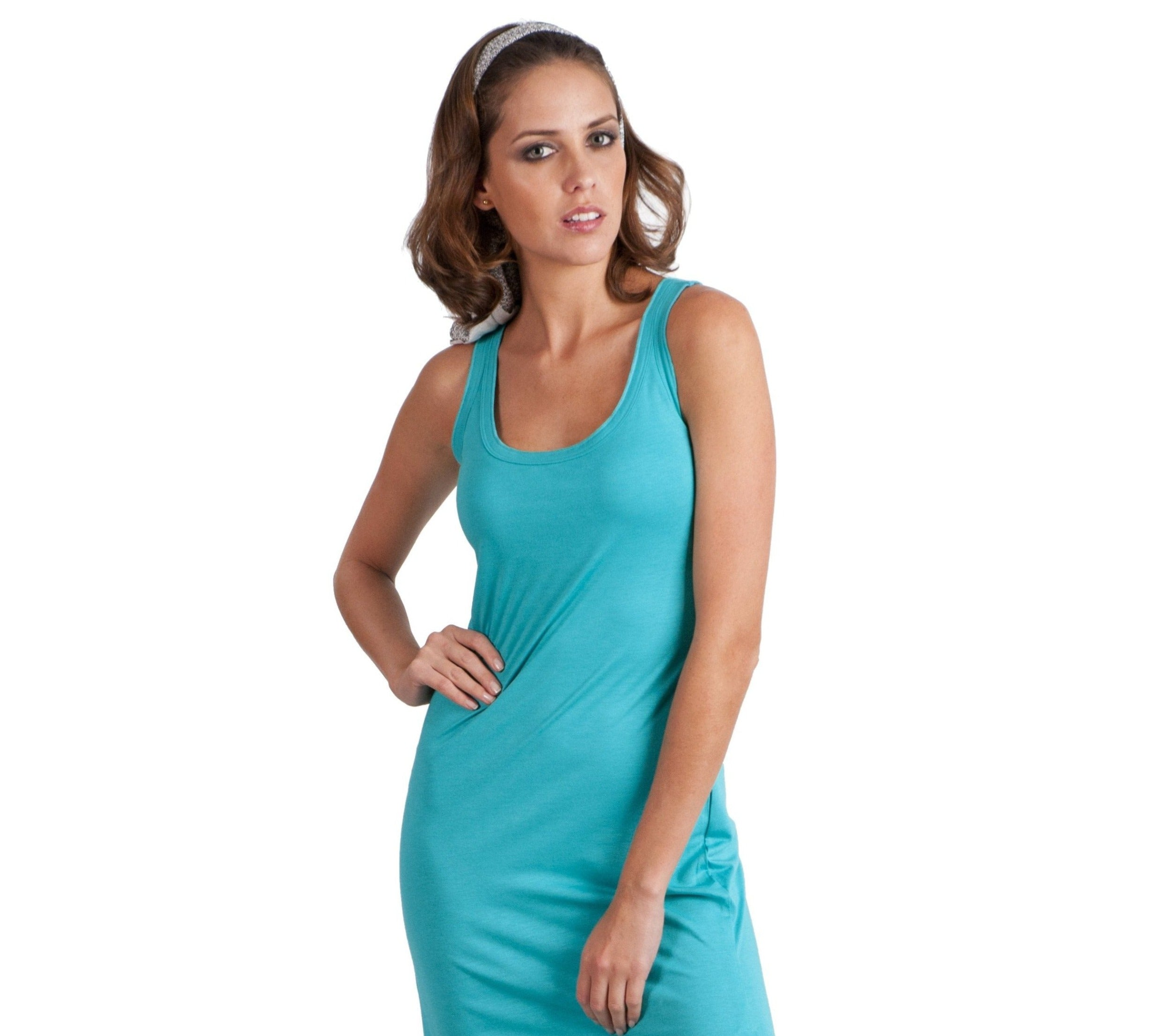 Essential Colors Tank Dress - Sales Rack