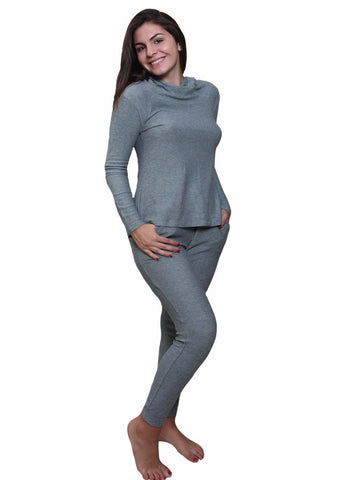 Forest Long Sleeve Hoodie, Jogger Pant Loungewear Set