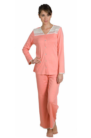Graciela Long Sleeve Full Length PJ Set