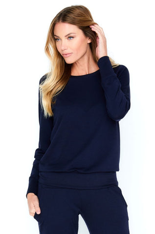 Laguna Long Sleeve Pull Over Top - Basic Colors