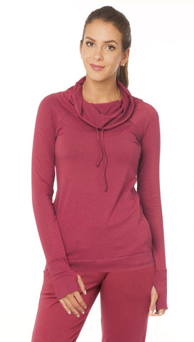Laguna Long Sleeve High Neck Pullover - Sales Rack