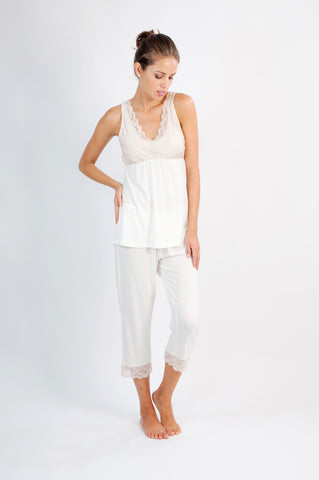 Leslie Cropped PJ Pants - Sales Rack
