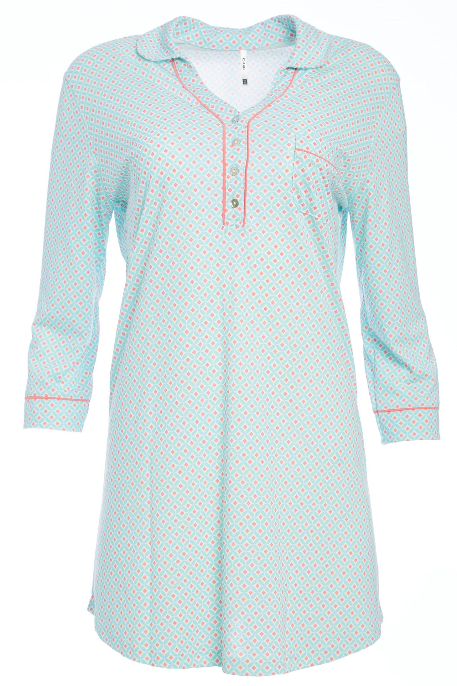 Misha Bracelet Length Pull Over Sleepshirt - Sales Rack