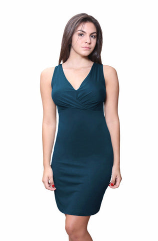 Double V Neck Tank Chemise - Clearance