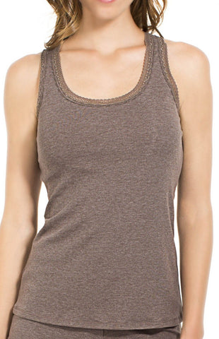 Olivia Ribbed Racerback Tank Camisole - Sales Rack