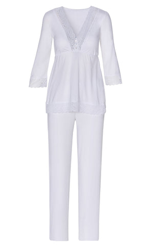 Sophie Basic 3/4 Sleeve Full Length Pant PJ Set