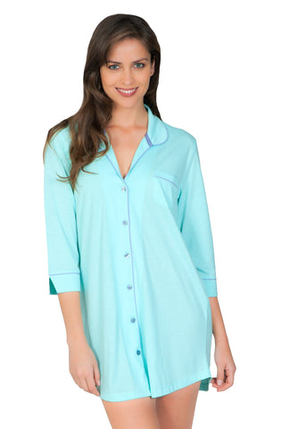 Stephanie 3/4 Sleeve Sleepshirt - Sales Rack