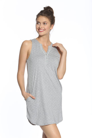 Valentina Sleeveless Tank Chemise - Sales Rack