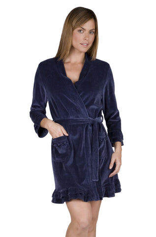 3/4 Sleeve Short Robe - Clearance