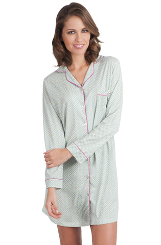 Quinn Long Sleeve Sleepshirt - Sales Rack