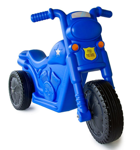 Blue Piki Piki Bike Angle