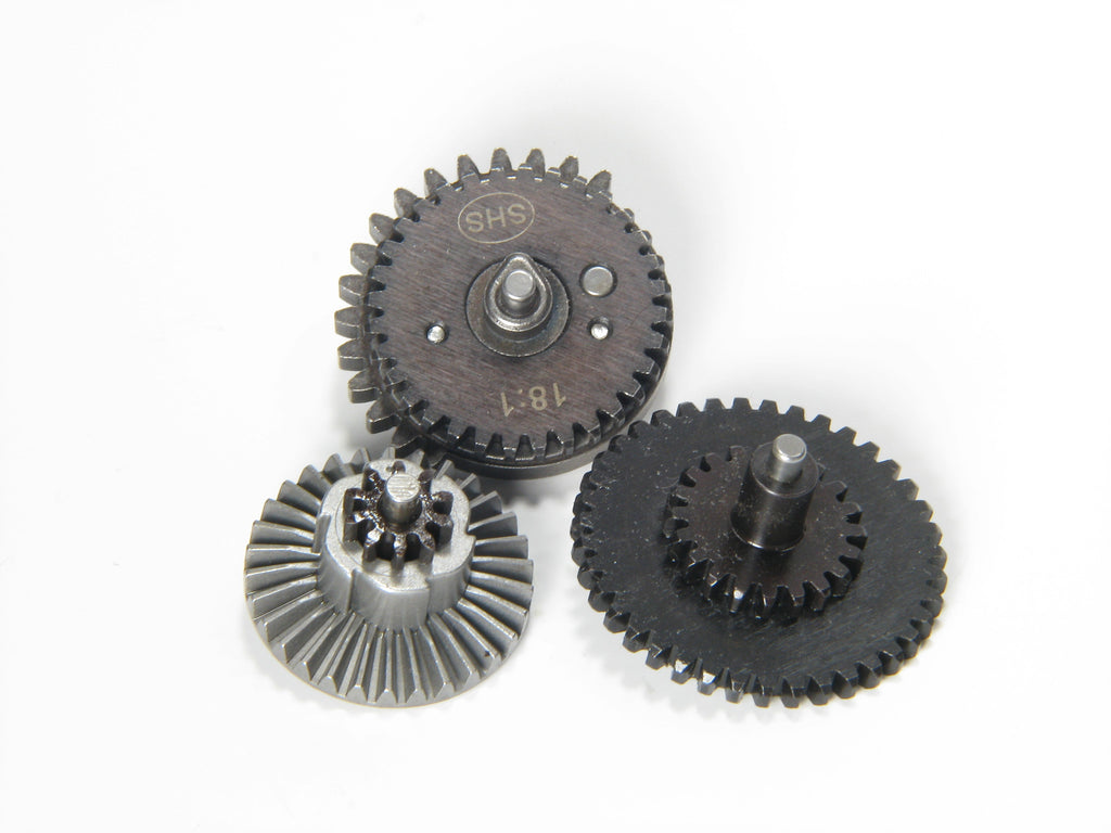 SHS / Rocket Airsoft Steel Gears - 18:1 Ratio