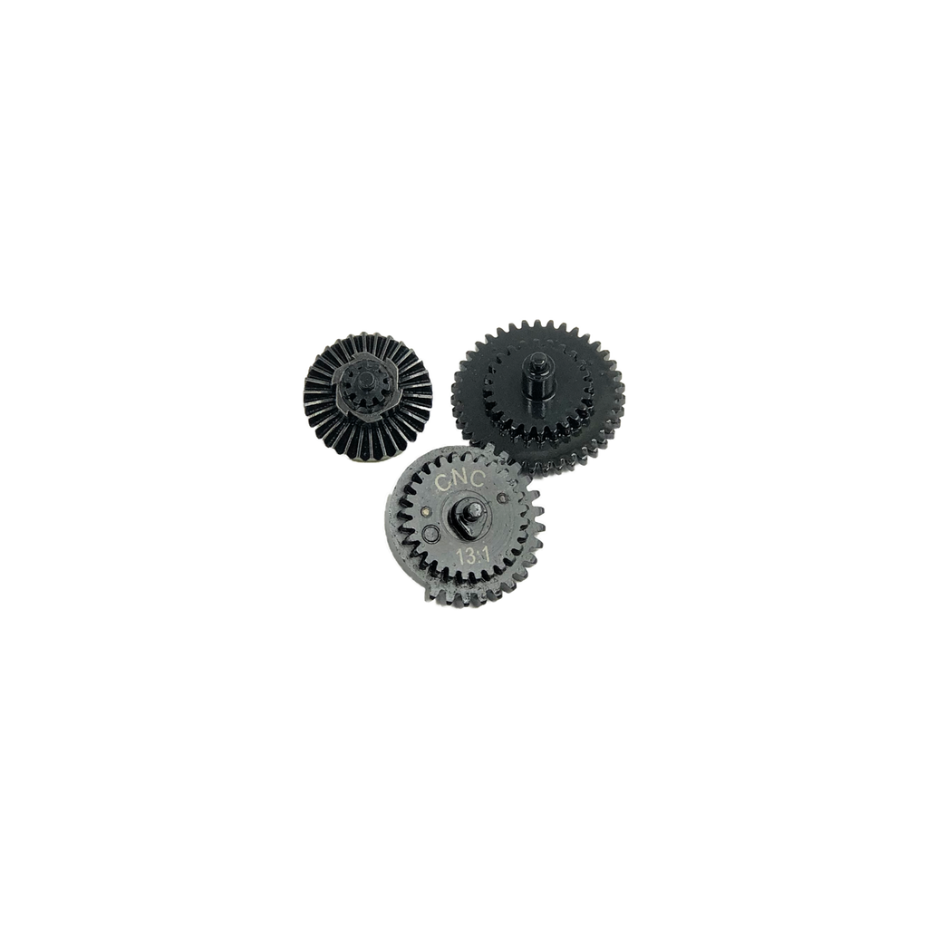 CNC Production Airsoft Steel Gears - 13:1 Ratio