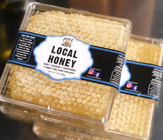 Local Honey Comb