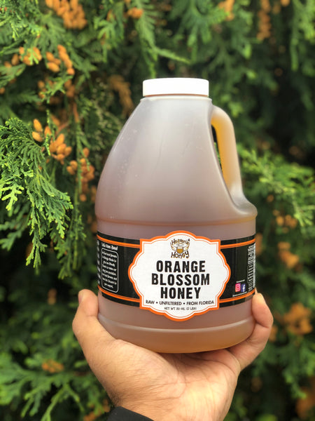 Pure Orange Blossom Raw Honey