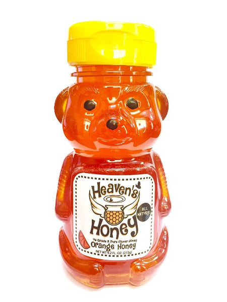 Natural Orange Flavored Honey