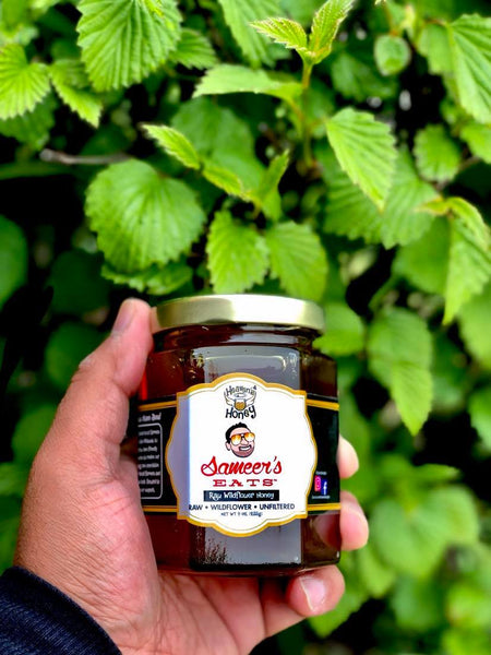 Raw Wildflower Honey - Sameer's Eats Edition