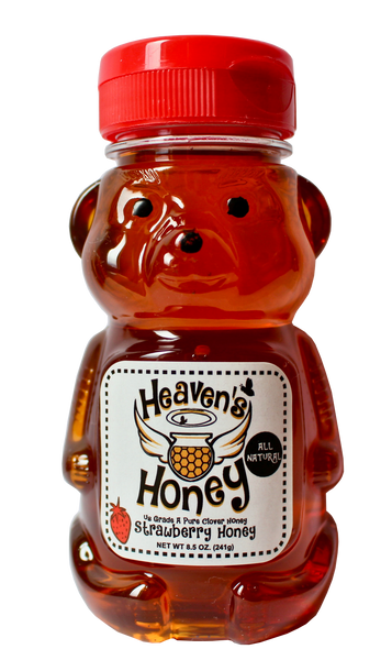 Natural Strawberry Flavored Honey
