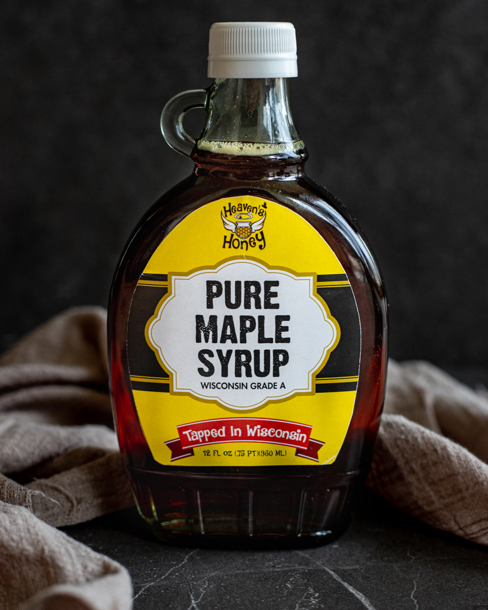 Maple Syrup Pure- Freshly Tapped Wisconsin