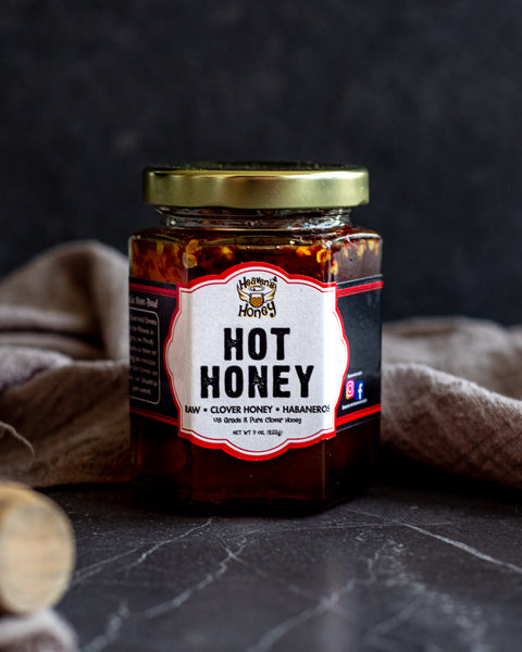 Hot Habanero Raw Honey