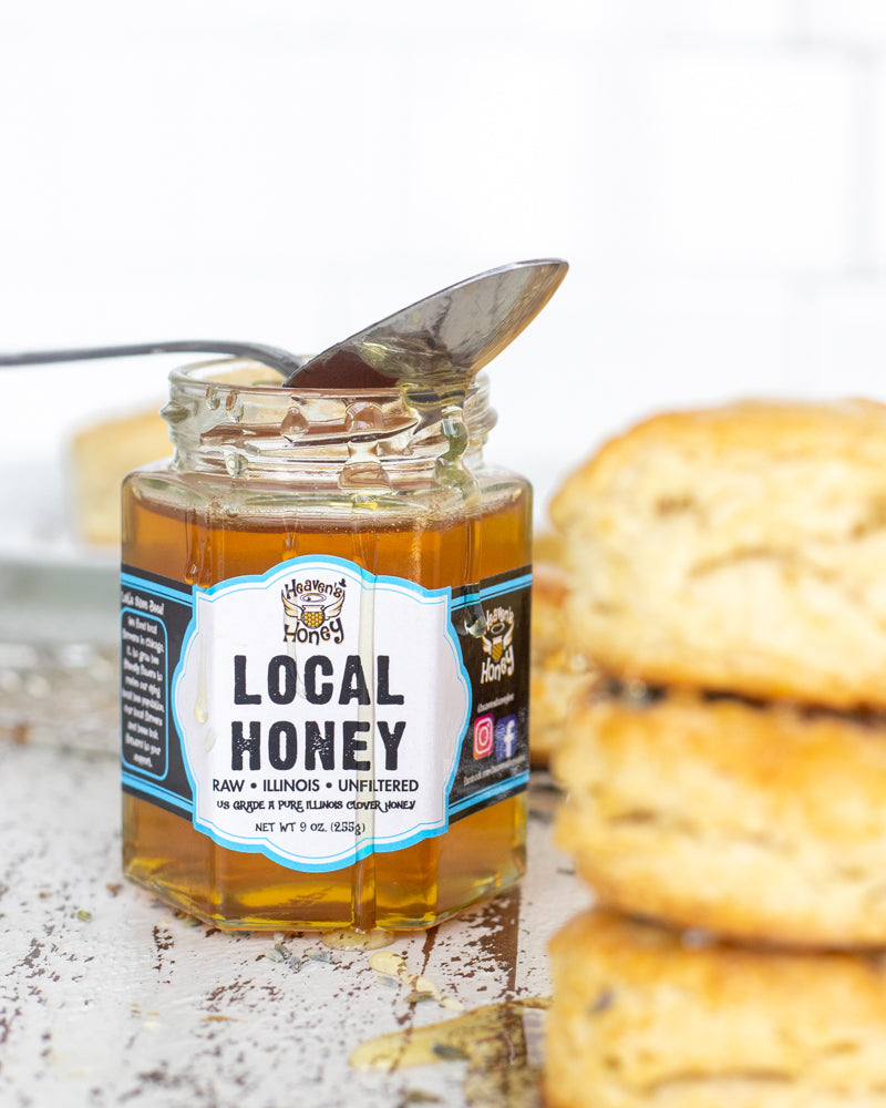 Local Chicago Honey - Raw and Unfiltered