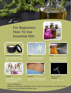 For Beginners: How to Use Essential Oils