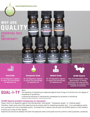Why Are Quality Essential Oils So Important?