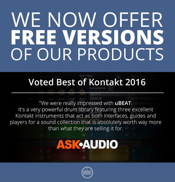 Now available: FREE versions of uBEAT editions