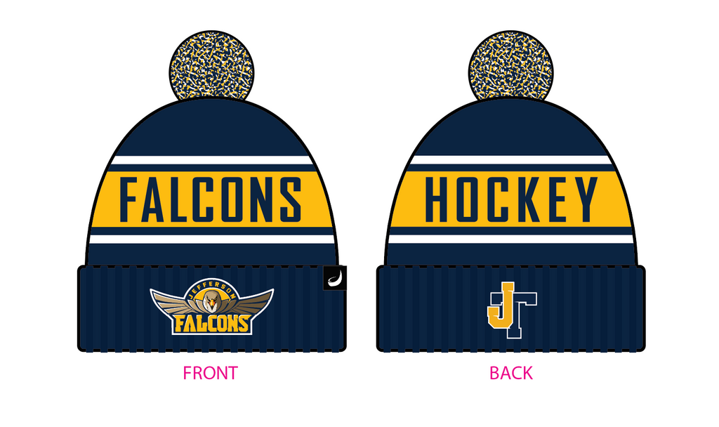 Jefferson Falcon Pom Beanie