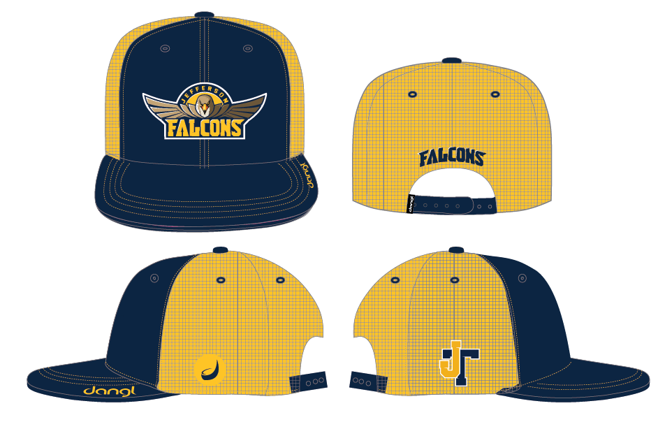 Jefferson Falcons Trucker Hat