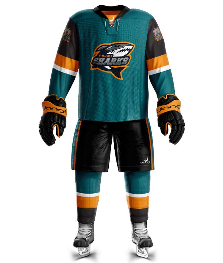 Steel City Sharks Uniform Set