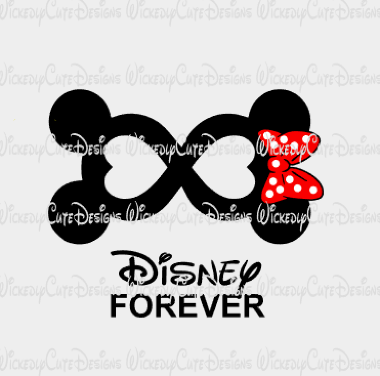 Disney Forever SVG, DXF, EPS, PNG Digital File