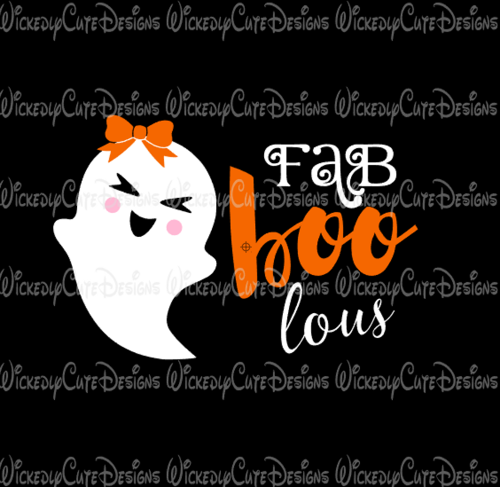Fab Boo Lous SVG, DXF, EPS, PNG Digital File