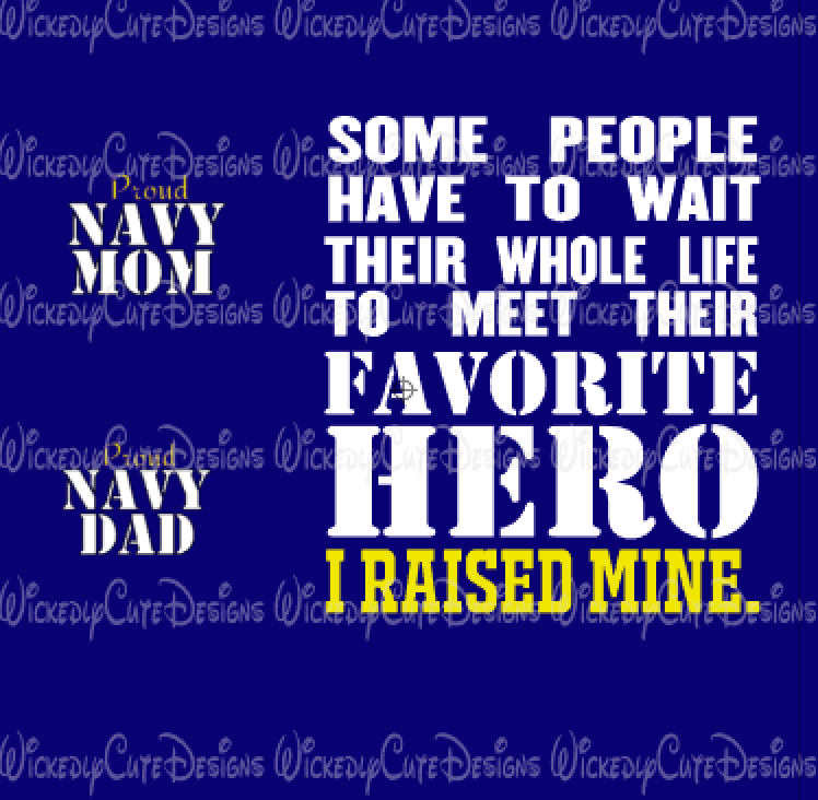 Favorite Hero Mom or Dad SVG, DXF, EPS, PNG Digital File