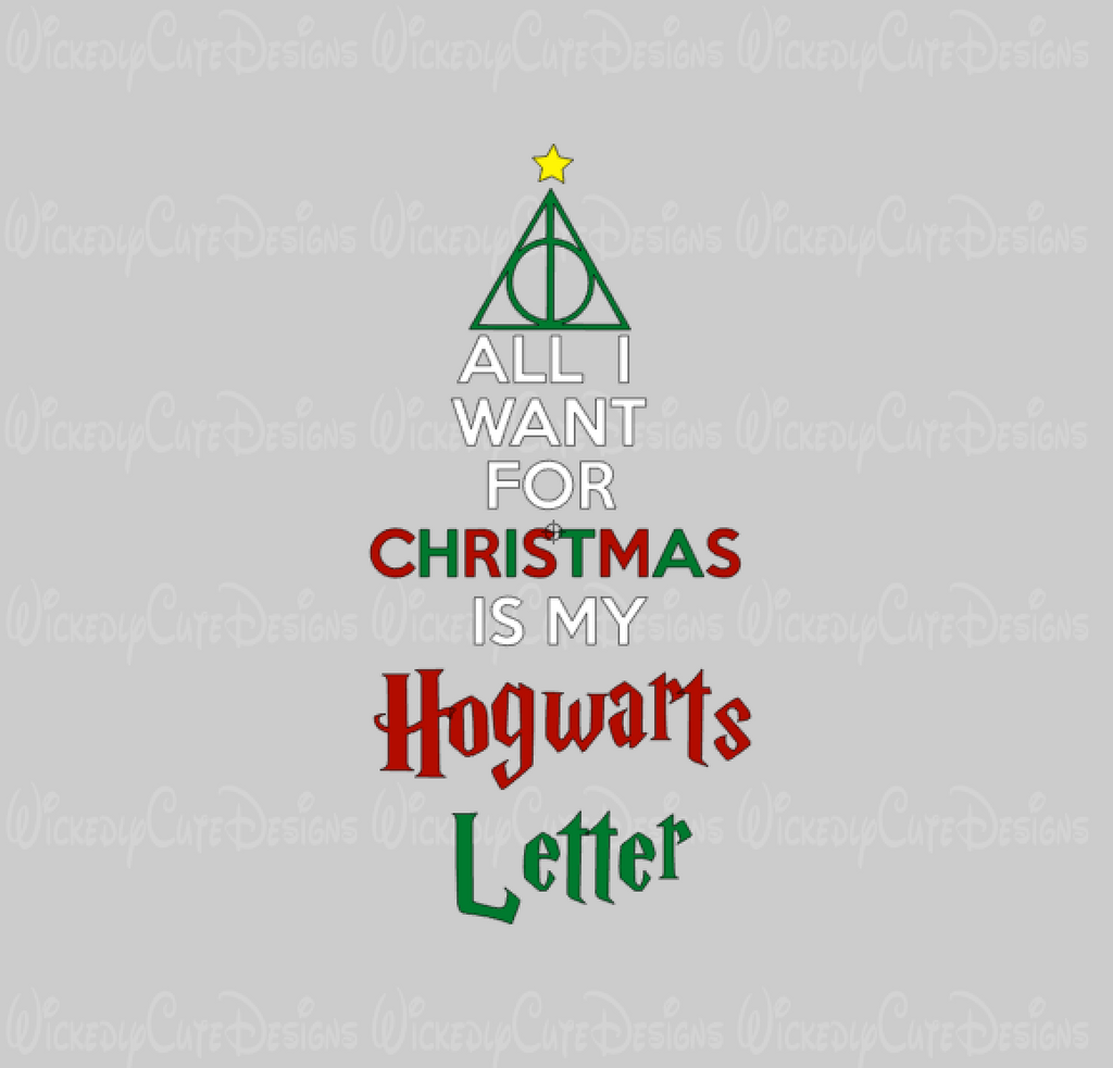 Hogwarts Letter SVG, DXF, EPS, PNG Digital File