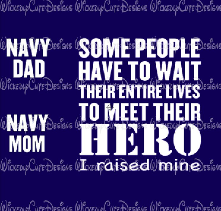 I Raised My Hero SVG, DXF, EPS, PNG Digital File