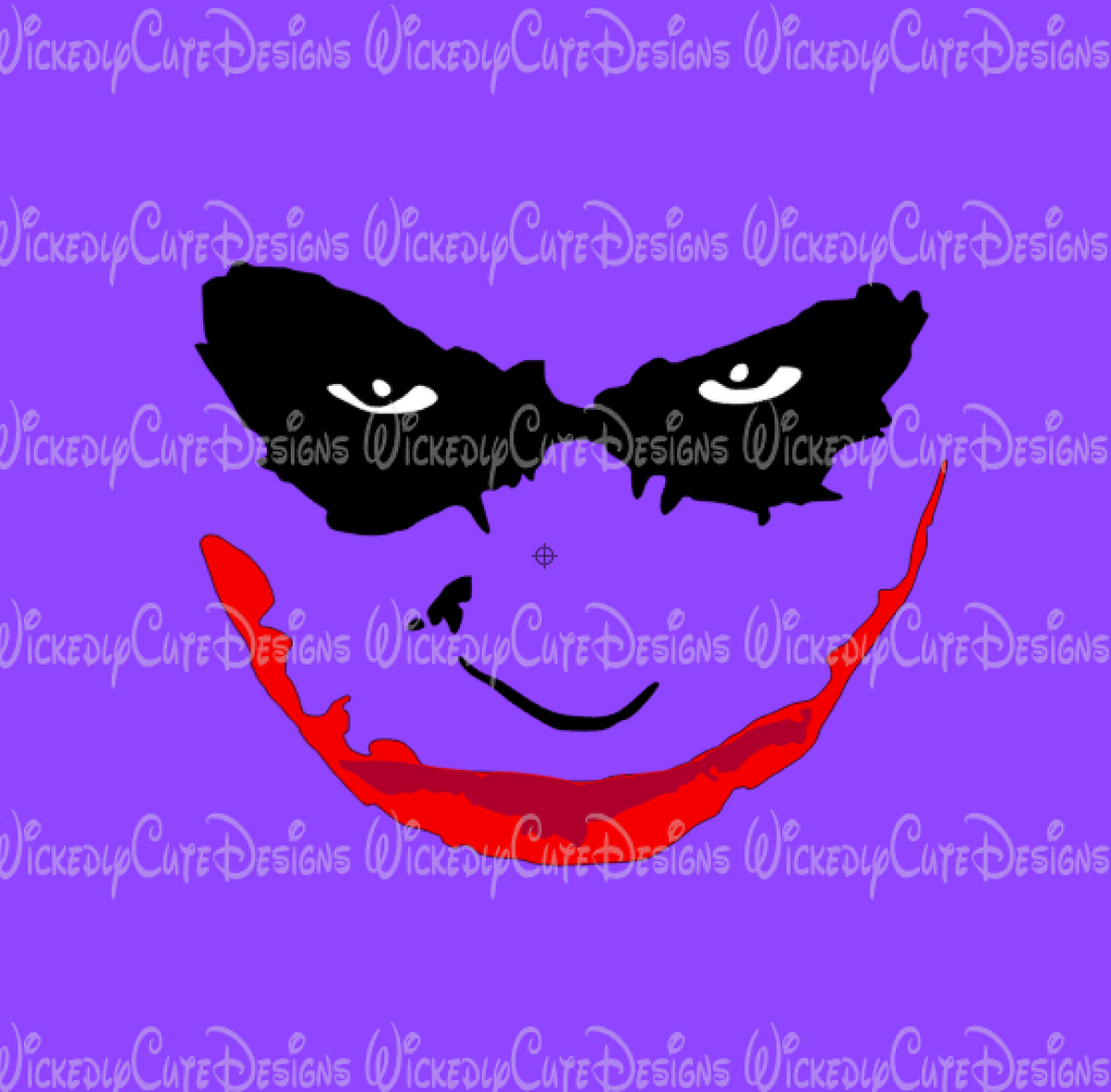 Joker 2 SVG, DXF, EPS, PNG Digital File