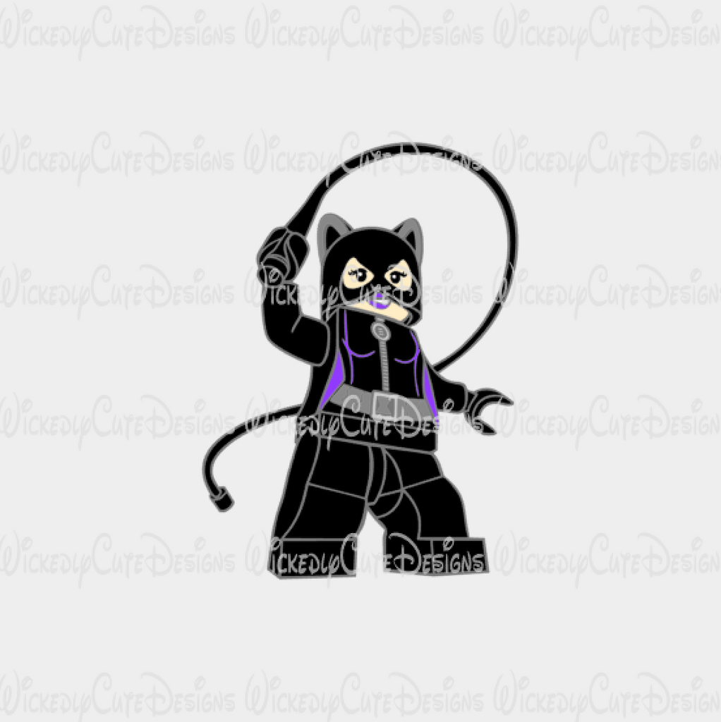 Lego Cat Woman SVG, DXF, EPS, PNG Digital File